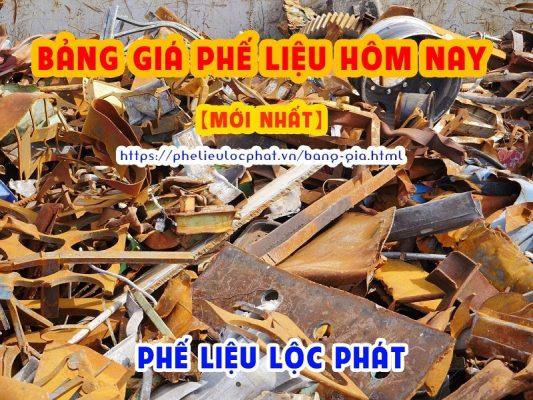 Bảng giá phế liệu hôm nay mới nhất tại Lộc Phát
